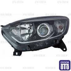 Renault Captur Far Lambası Sol Siyah (Motorlu) Depo 260601794R