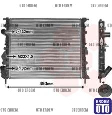 Renault Clio 2 Motor Su Radyatörü 2 Sıra 7700838134 - 2
