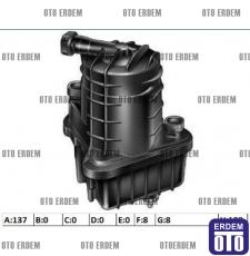 Renault Clio 3 Yakıt Filtresi Sensörsüz 7701479151