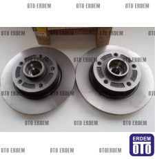 Renault Fluence Arka Fren Disk Takımı 432001539R - 3