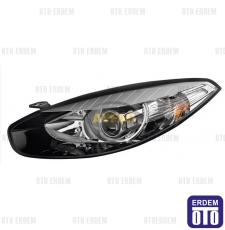 Renault Fluence Sağ Far Siyah Çerçeveli 260101331RT