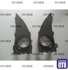 Renault Fluence Sis Farı Çerçevesi Takım Krom 261523809R - 2