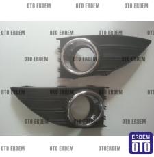 Renault Fluence Sis Farı Çerçevesi Takım Krom 261523809R - 5