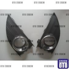 Renault Fluence Sis Farı Çerçevesi Takım Krom 261523809R - 6
