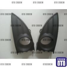 Renault Fluence Sis Farı Çerçevesi Takım Siyah 261521098R - 2
