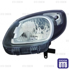 Renault Kangoo Far Lambası Sağ Siyah (Motorlu) Depo 260103948R