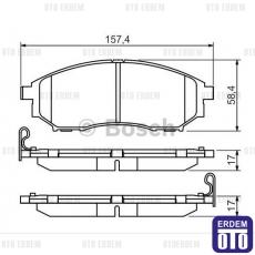 Renault Latitude Ön Fren Balatası Takımı 402064408R - BOSCH
