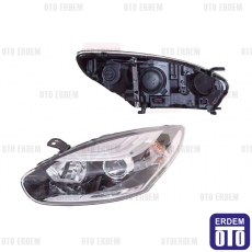Renault Megane 3 (HB) Far Lambası Sol Krom 260605817R