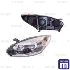 Renault Megane 3 (HB) Far Lambası Sol Krom Depo 260605817R