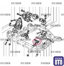 Renault R9 Motor Takozu Ön Sol 7702257836 - 2