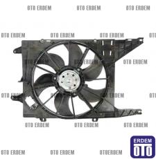 Renault Scenic 1 Fan Motoru 7701051497  - 3