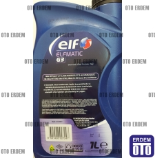 Şanzıman Yağı Elf Elfmatic-G3 Otomatik (1 Litre)  - 4