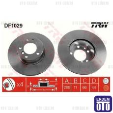 Scenic 1 RX4 Arka Fren Disk Takımı 7701205845