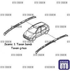 Scenic 1 Tavan Bandı Çıtası Takım 7700427614 - 7700427615 - 2