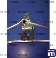 Silecek Motor Şasesi Alt Kolları Komple Frezeli R9 - R11 7702127714M - Mako - 2