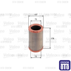 Twingo 1 Hava Filtresi 1.2 Valeo 7701039857