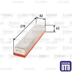 Twingo 2 Hava Filtresi 1.5Dci Valeo 8200298074
